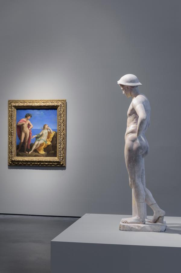Installation photograph, To Rome and Back: Individualism and Authority in Art, 1500–1800, Los Angeles County Museum of Art, June 24, 2018–March 17, 2019
