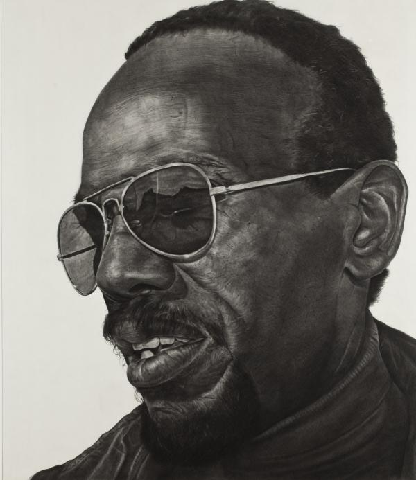 Richard Wyatt, Man Wearing Sunglasses, 1981