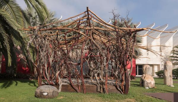 Mineo Mizuno, Harmony, 2019, courtesy of Mineo Mizuno, installation view, Los Angeles County Museum of Art
