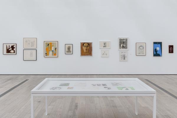 Installation photograph, Luchita Hurtado: I Live I Die I Will Be Reborn, Los Angeles County Museum of Art