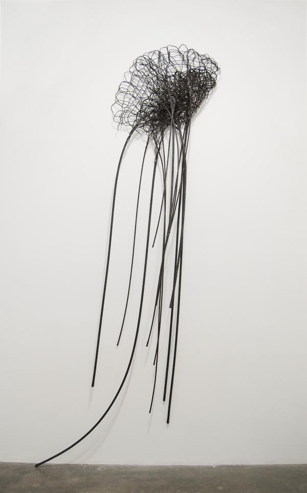 Maren Hassinger, Untitled (Sea Anemone), 1971