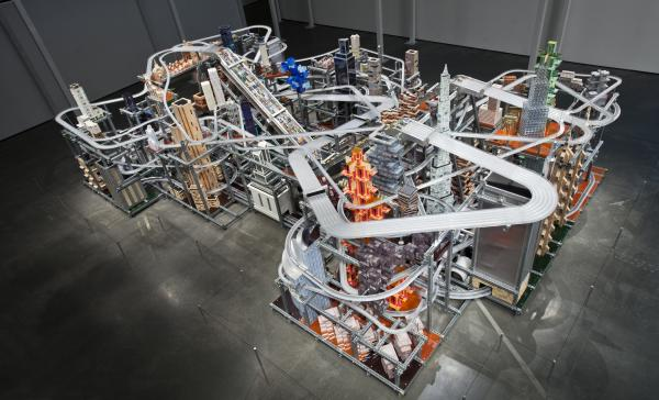 Chris Burden, Metropolis II, 2010