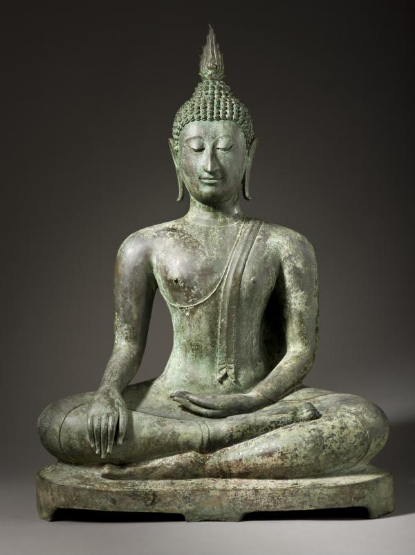 Buddha Shakyamuni, Thailand, Sukhothai, 14th-15th century