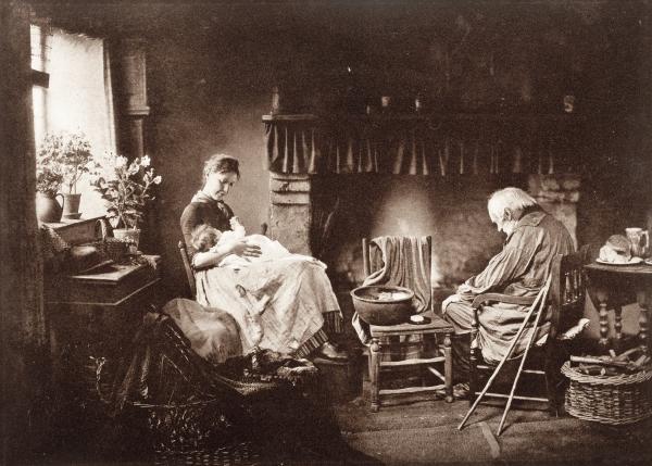Henry Peach Robinson, Dawn & Sunset, 1889–91