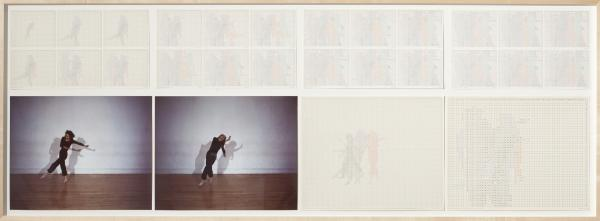Charles Gaines, Trisha Brown Dance, Set 3, 1980–81