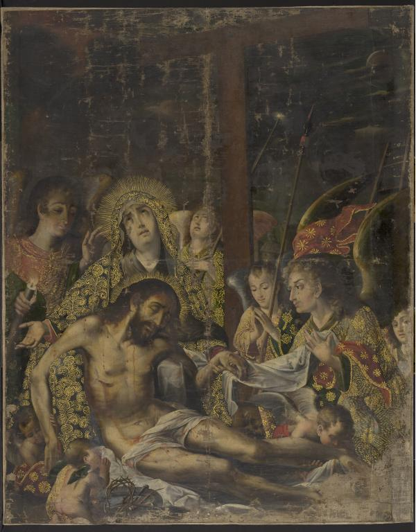 Melchor Pérez Holguín, Pietá