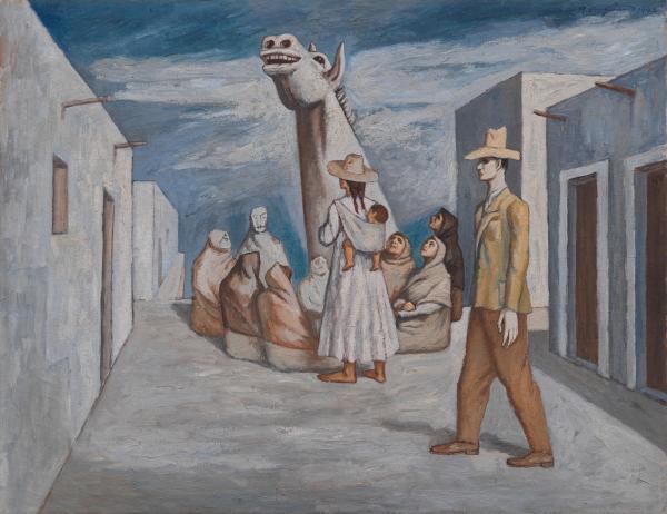 Raúl Anguiano, The Call of Instinct (La llamada del instinto), 1942