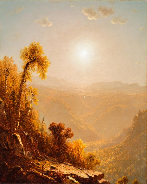 Sanford Robinson Gifford, October in the Catskills, 1880