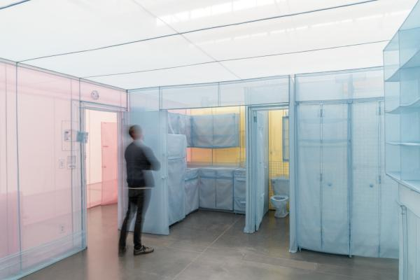 Do Ho Suh, 348 West 22nd Street, Apartment A, Unit-2, Corridor and Staircase