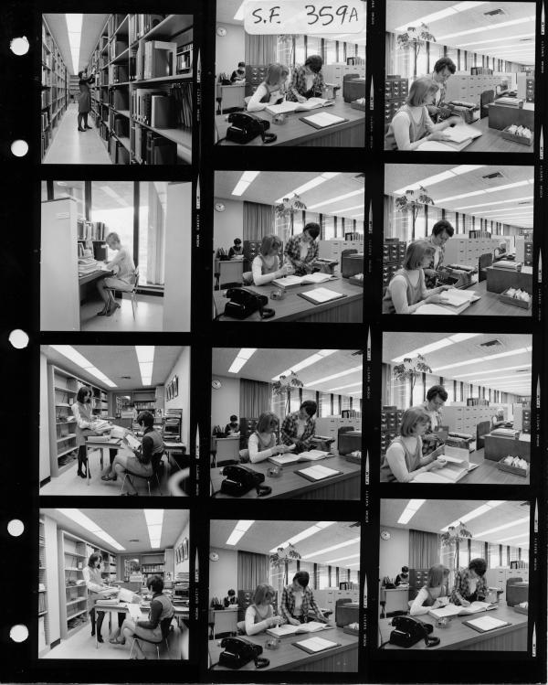LACMA's Balch Research Library, June 1, 1969, photo © Museum Associates/LACMA