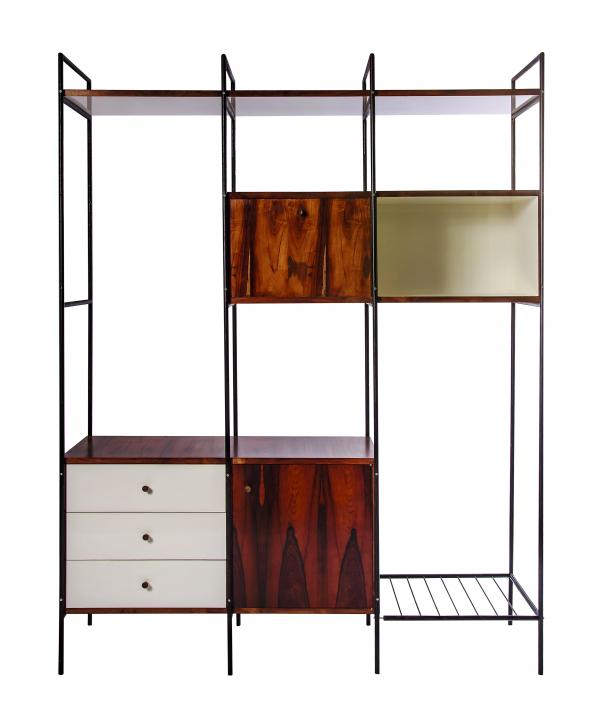 Geraldo de Barros, Shelving Unit MF 710 (Estante MF 710; manufactured by Unilabor), 1954