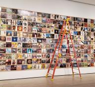 Installation photograph, Yoshitomo Nara, at the Los Angeles County Museum of Art, photo by Senior Art Preparator Daniel Wheeler