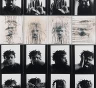 "Willie Robert Middlebrook, In His ""Own"" Image from the series Portraits of My People, 1992"