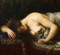 Artemisia Gentileschi's painting Death of Cleopatra, c. 1630