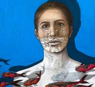 Judithe Hernández, El Mar de Las Desconocidas, 2017