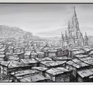 Jeff Gillette, Disneyland Castle Slum, 2019