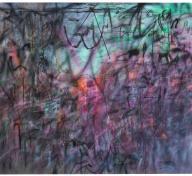 Julie Mehretu, Conjured Parts (eye), Ferguson, 2016