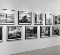 Installation photograph, ROMA: Alfonso Cuarón, Los Angeles County Museum of Art