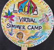 Artwork by LACMA Virtual Art Camp Teaching Artist Eszter Delgado