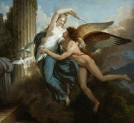 Jean Pierre Saint-Ours, The Reunion of Cupid and Psyche, c. 1789–92