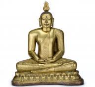 Buddha Shakyamuni, Sri Lanka, Kandy period, 18th century