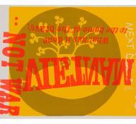 Sister Mary Corita Kent's yellow submarine poster