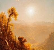 Sanford Robinson Gifford, October in the Catskills, 1880