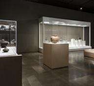 Installation view, Korean art galleries at LACMA