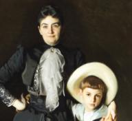 "John Singer Sargent, ""Portrait of Mrs. Edward L. Davis and Her Son, Livingston Davis,"" 1890"