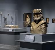 Installation view, Renaissance and Reformation: German Art in the Age of Dürer and Cranach, November 20, 2016–March 26, 2017, Los Angeles County Museum of Art