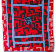 Sherry Byrd, Roman Stripe Variations, 1989